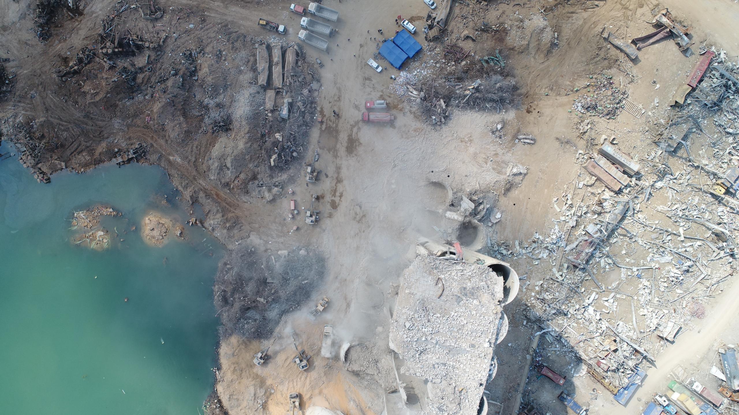 Intervention du GSCF – Explosion port de Beyrouth